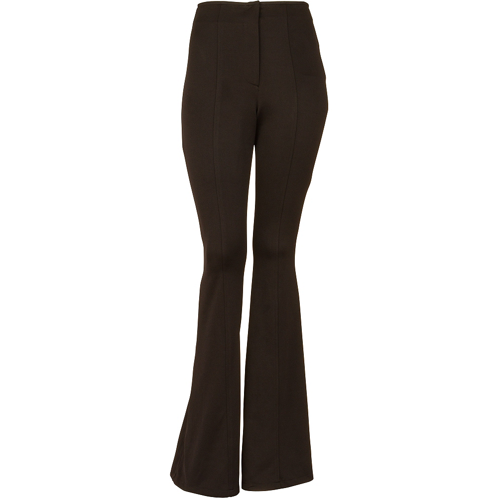 Black 70s Disco Pants Image #1
