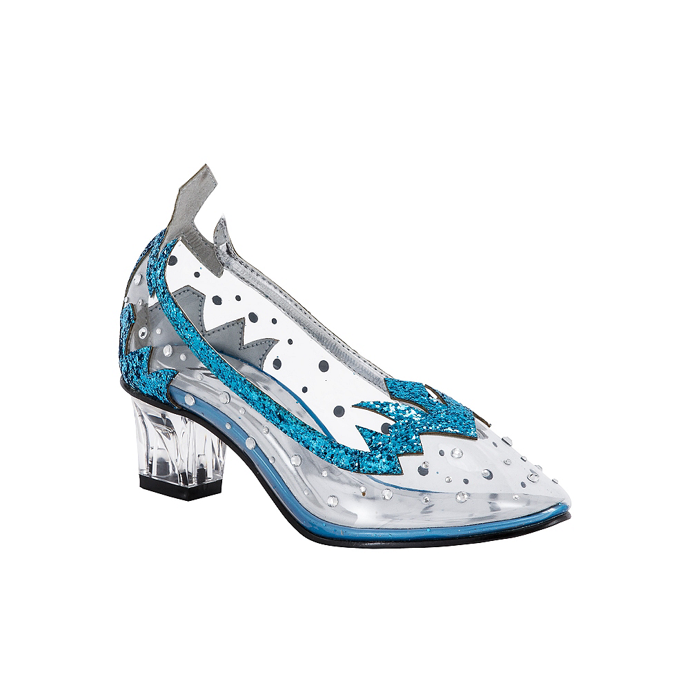Child Ice Princess Blue High Heel Shoes Image #1