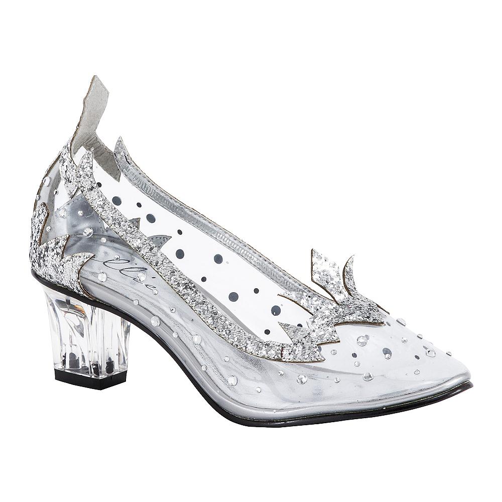 Ice Princess Silver High Heel Shoes Image #1