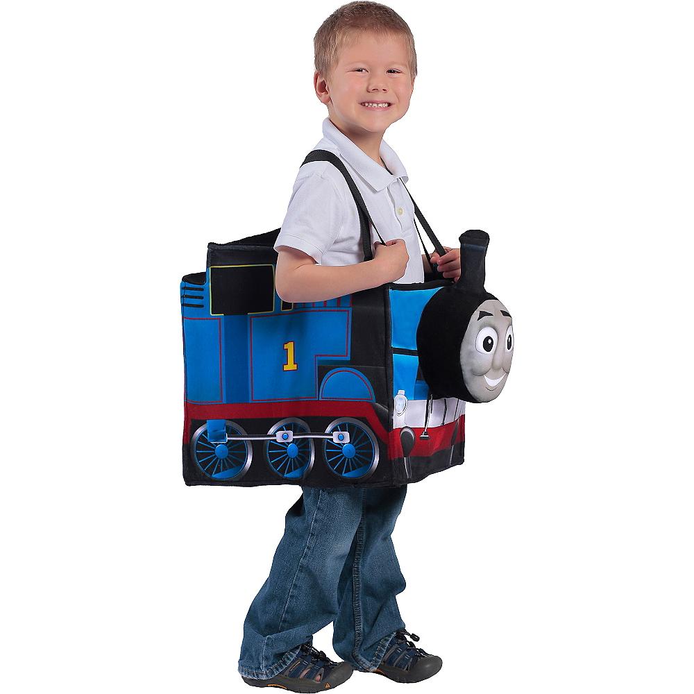 Boys Ride-In Thomas the Tank Engine Costume Image #1