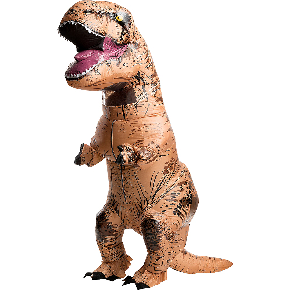 cac9634b6fe Adult Inflatable T-Rex Dinosaur Costume - Jurassic World Image  1