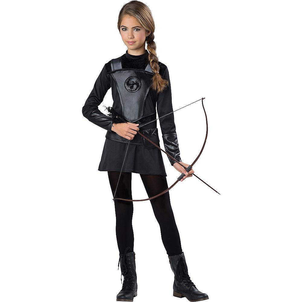Girls Warrior Huntress Costume Image #1