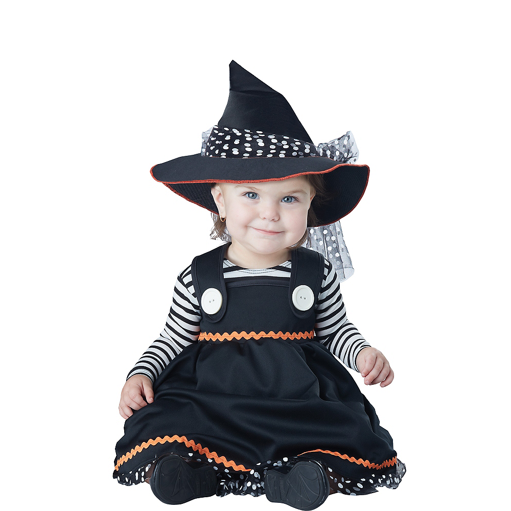 Baby Crafty Lil Witch Costume Image #1
