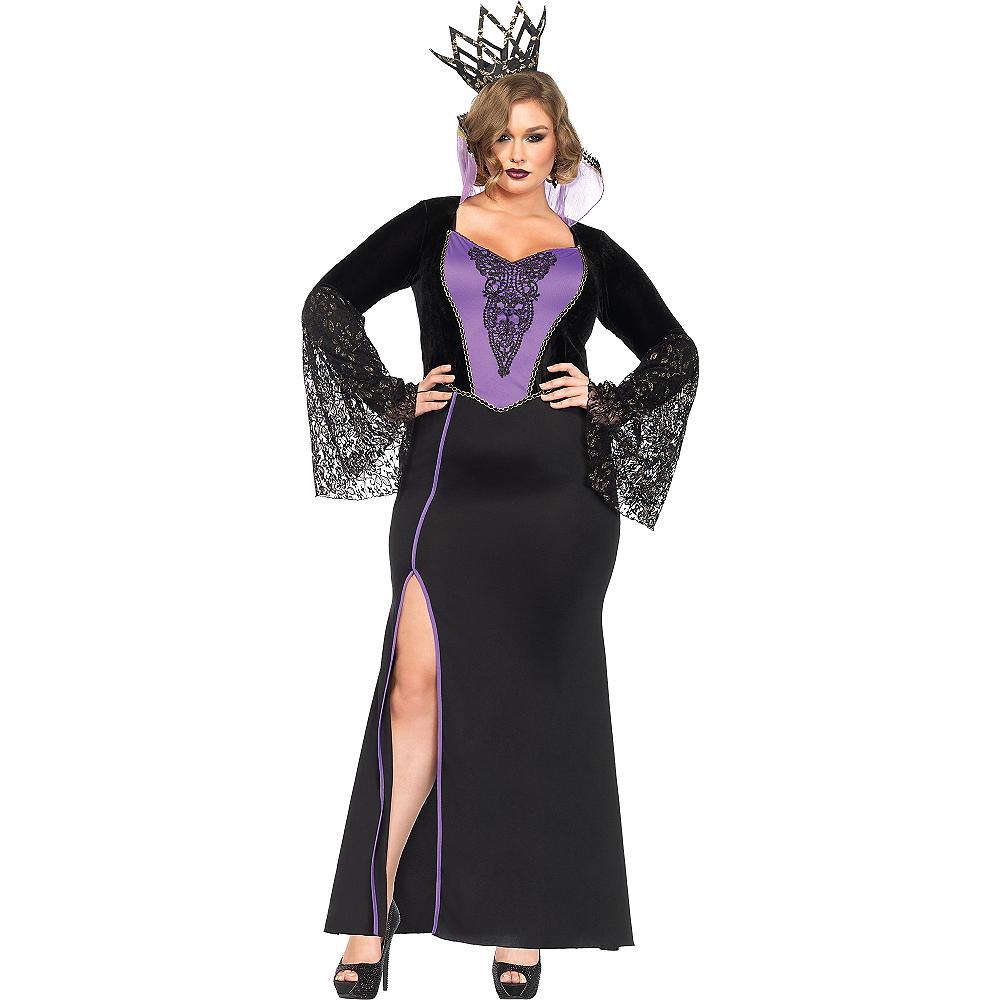 Adult Evil Queen Costume Plus Size Image #1