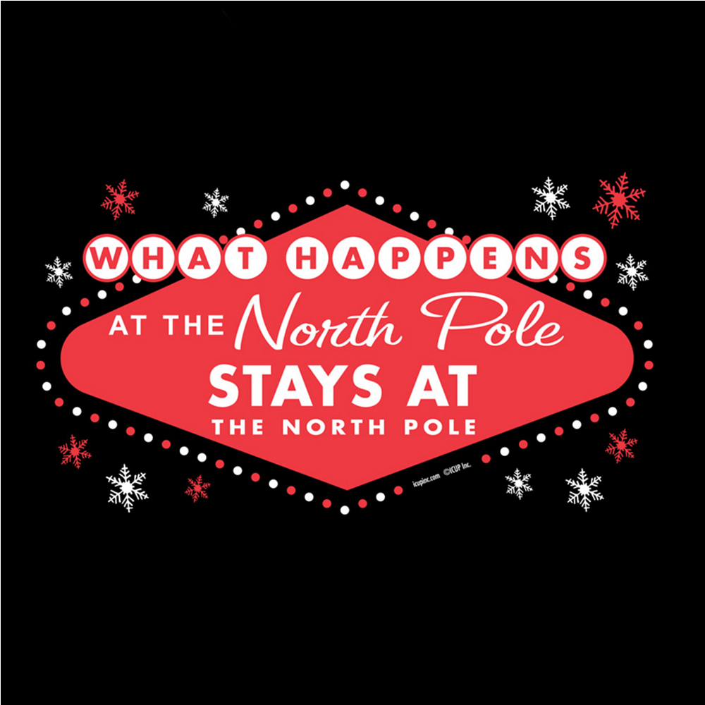 What Happens at the North Pole T-Shirt Image #2