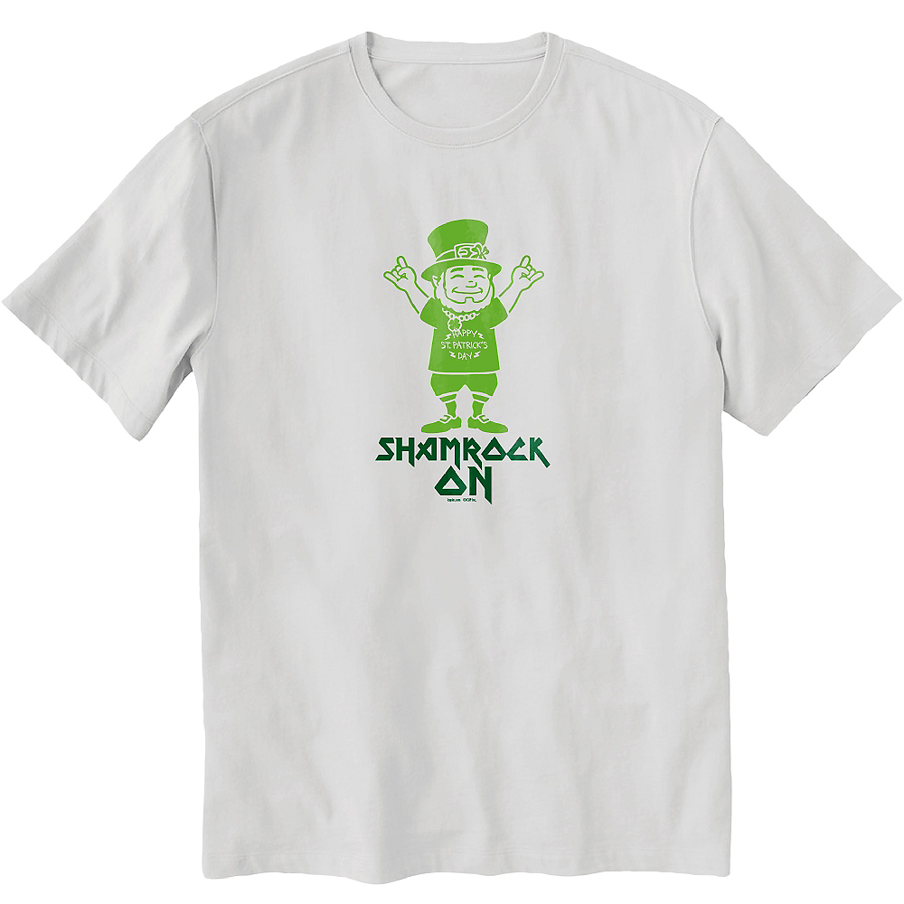 Nav Item for Shamrock On T-Shirt Image #1