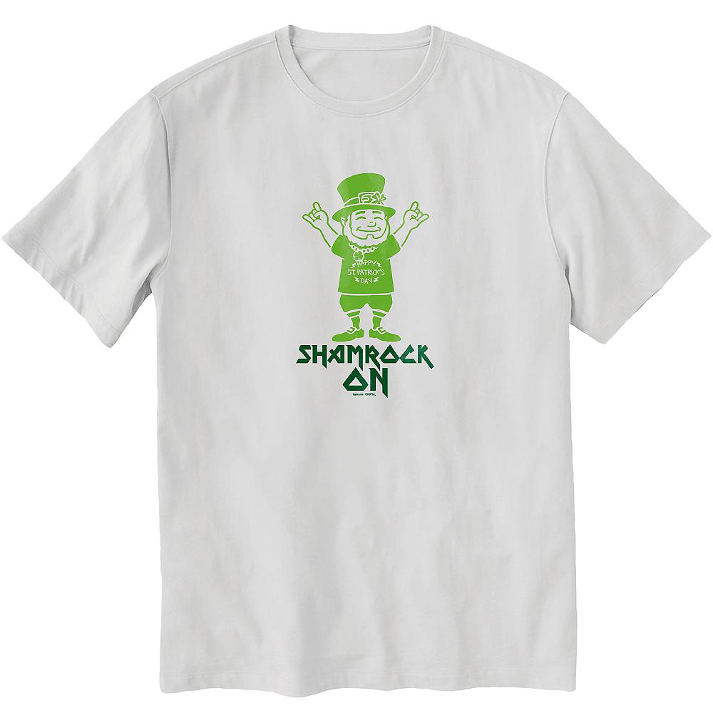 Shamrock On T-Shirt Image #1
