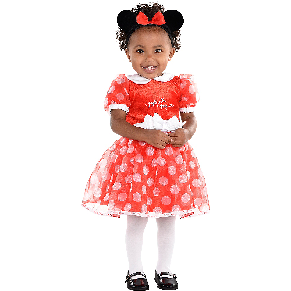 Baby Polka Dot Minnie Mouse Costume Image #1