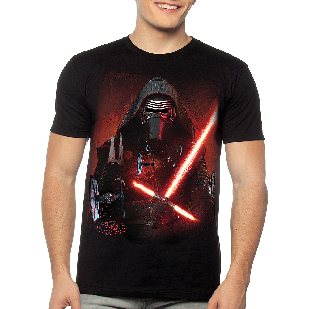 8bfd7f253 ... Kylo Ren T-Shirt - Star Wars 7 The Force Awakens Image #2