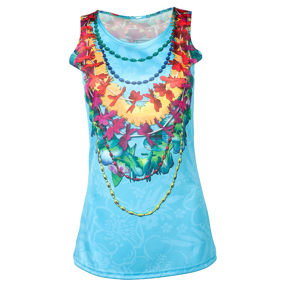 Tropical Lei Tank Top Image #1