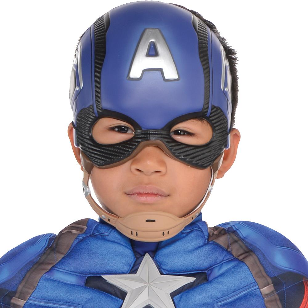 Boys Captain America Muscle Costume - Captain America: Civil War Image #2