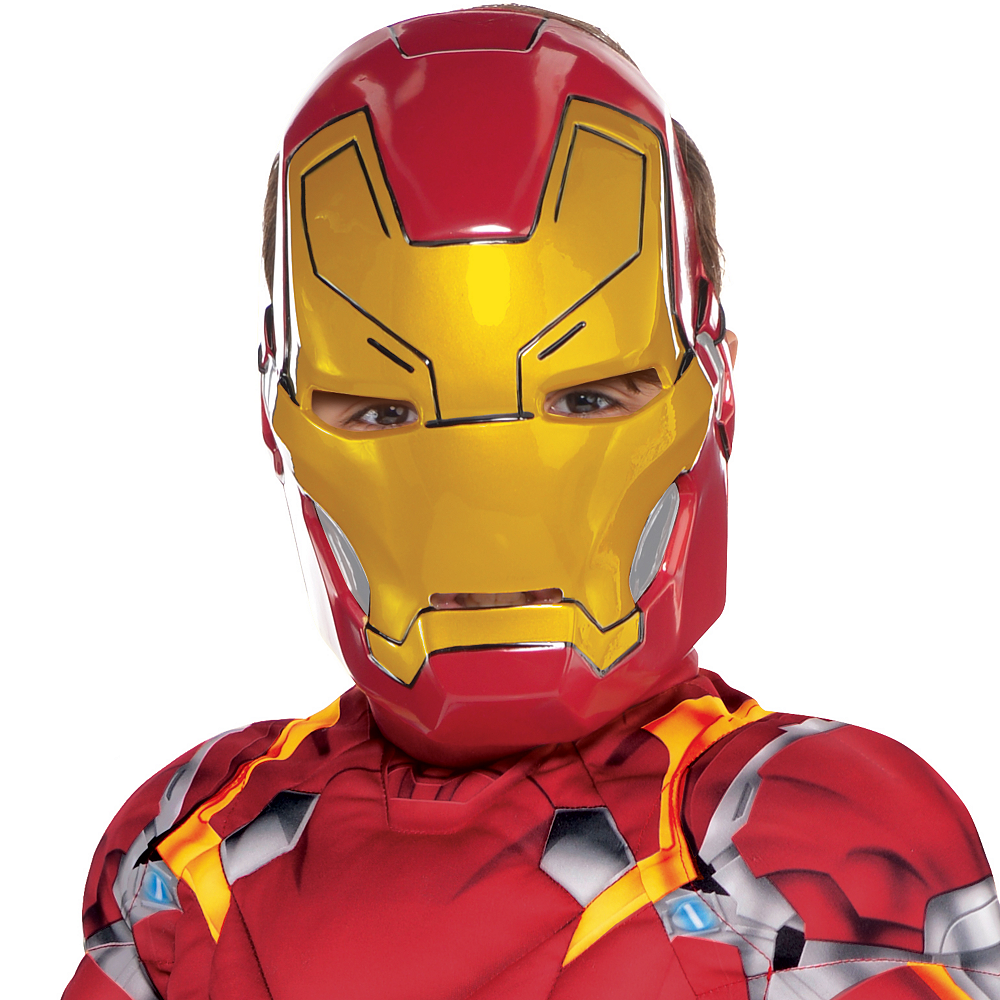 Boys Iron Man Muscle Costume - Captain America: Civil War Image #2
