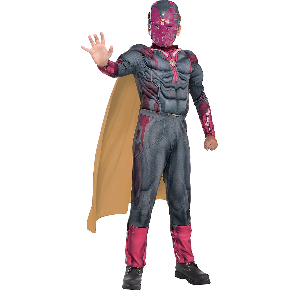 Nav Item for Boys Vision Muscle Costume - Captain America: Civil War Image #1