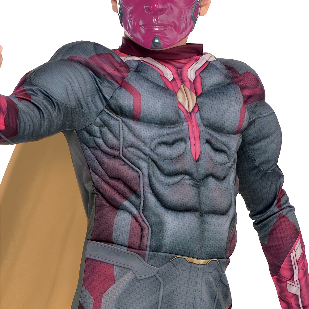 Boys Vision Muscle Costume - Captain America: Civil War Image #3
