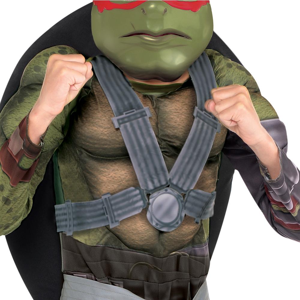 Boys Raphael Muscle Costume - Teenage Mutant Ninja Turtles 2 Image #3