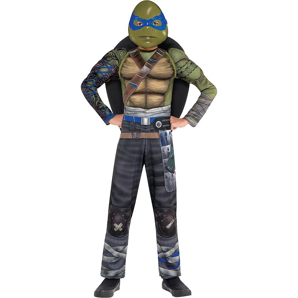 Boys Leonardo Muscle Costume - Teenage Mutant Ninja Turtles 2 Image #1