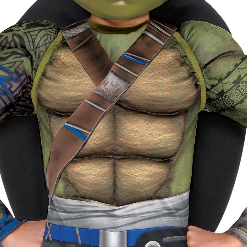 Boys Leonardo Muscle Costume - Teenage Mutant Ninja Turtles 2 Image #3