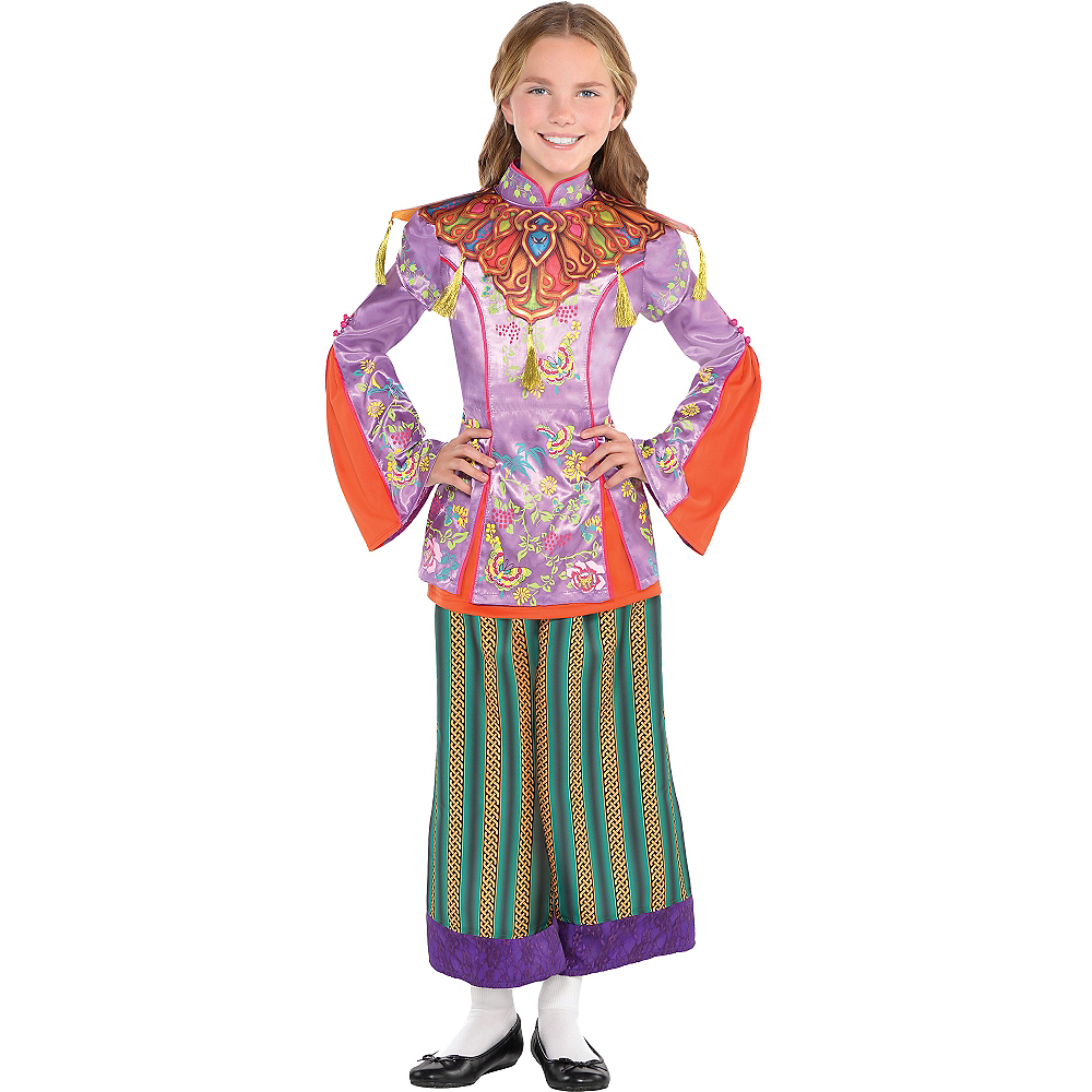 Girls Alice in Wonderland Costume - Alice Through the Looking Glass Image #1