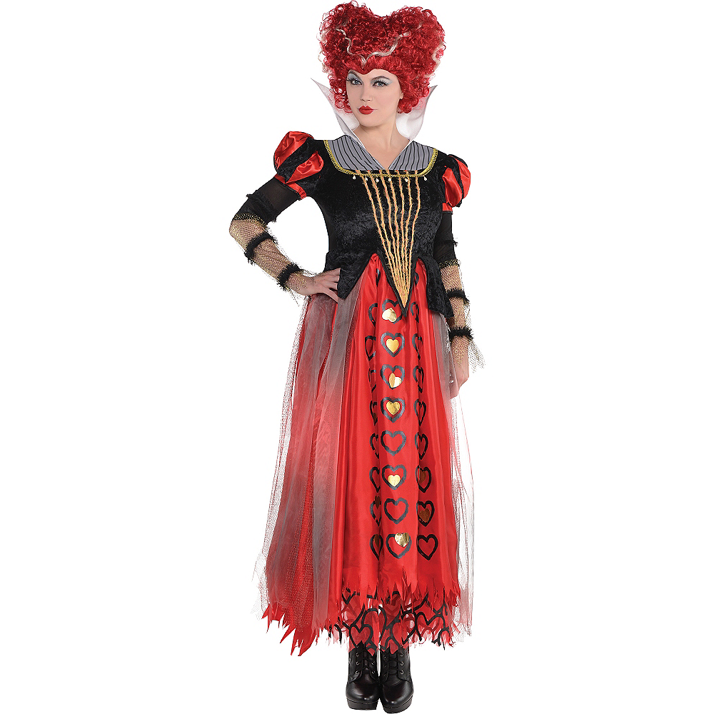 Nav Item for Adult Red Queen Costume - Alice Through the Looking Glass Image #1