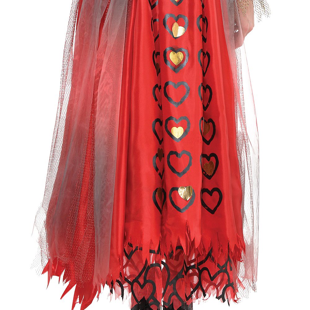 Nav Item for Adult Red Queen Costume - Alice Through the Looking Glass Image #4