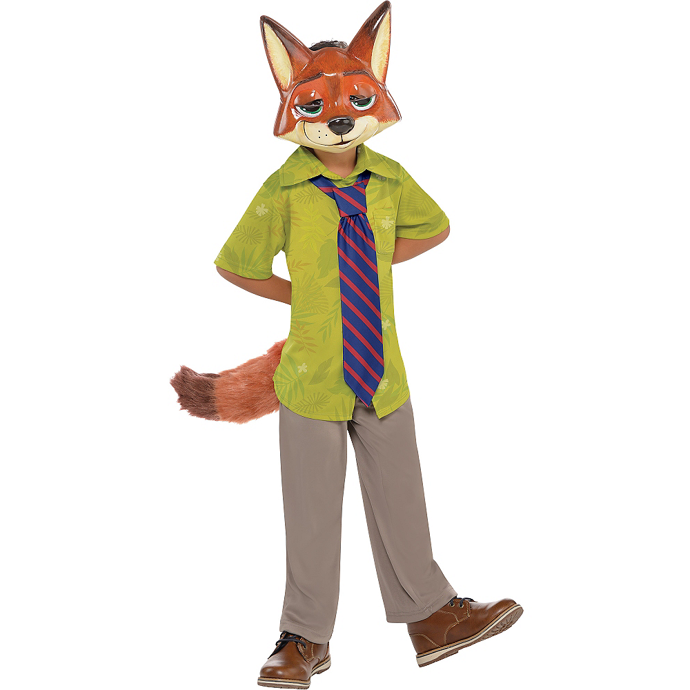 Boys Nick Wilde Costume - Zootopia Image #1