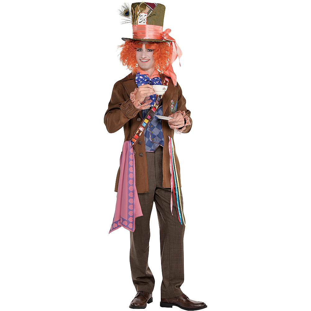 Adult Mad Hatter Costume - Alice Through the Looking Glass Image #1