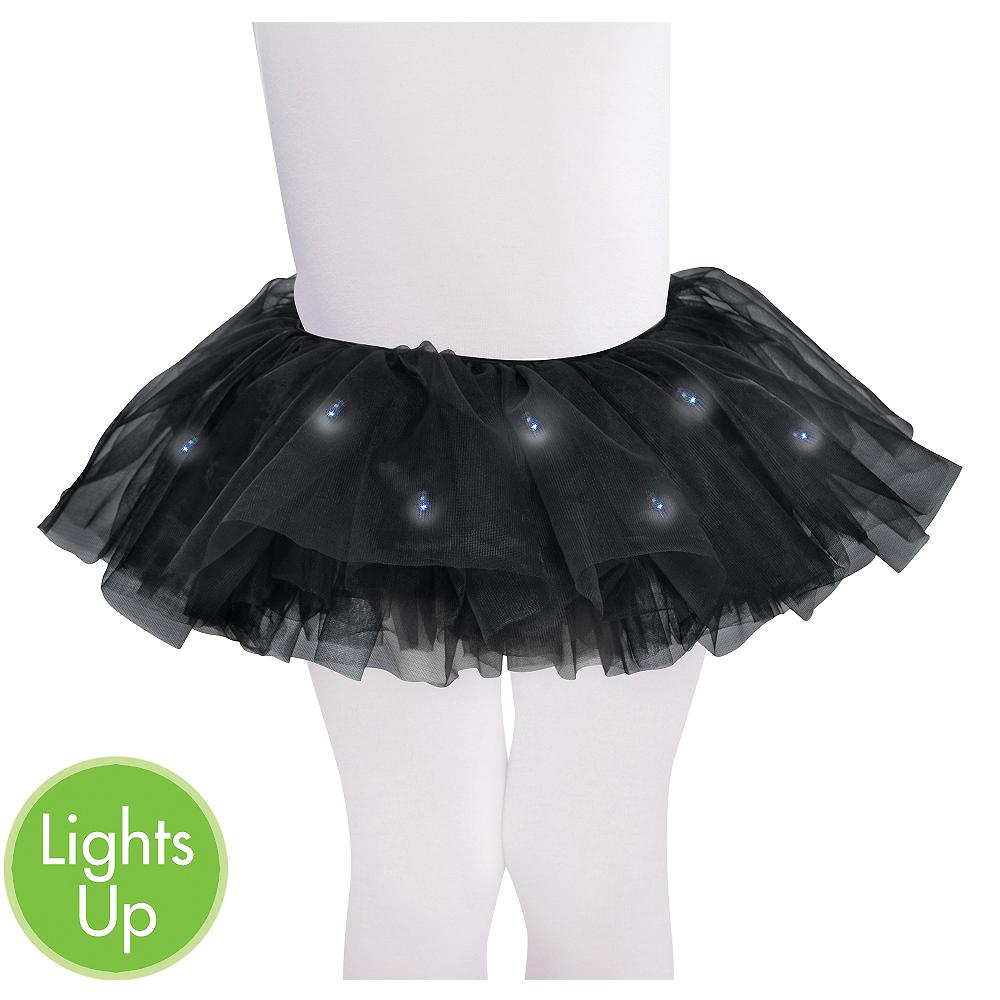 Child Light-Up Black Tutu Image #1