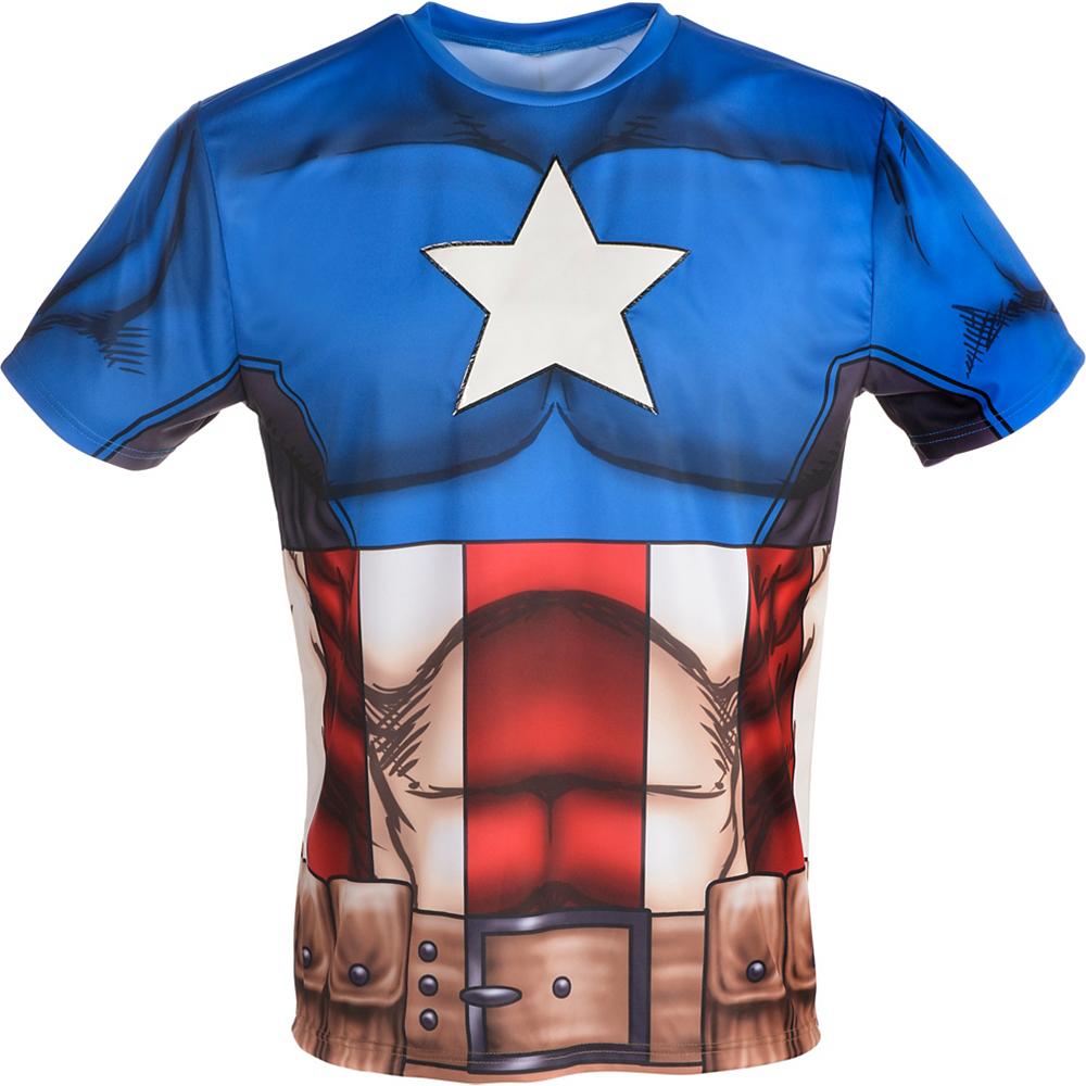 Captain America T-Shirt Image #2