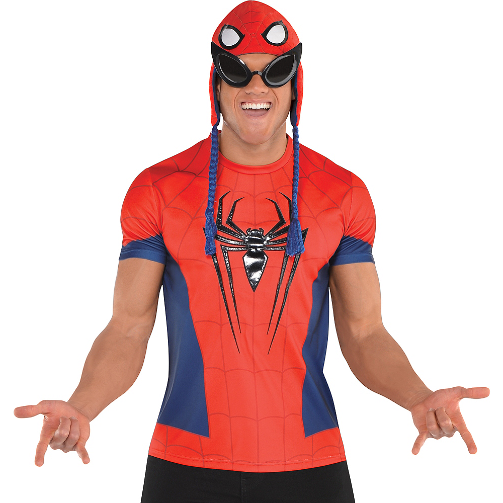 Nav Item for Spider-Man T-Shirt Image #1