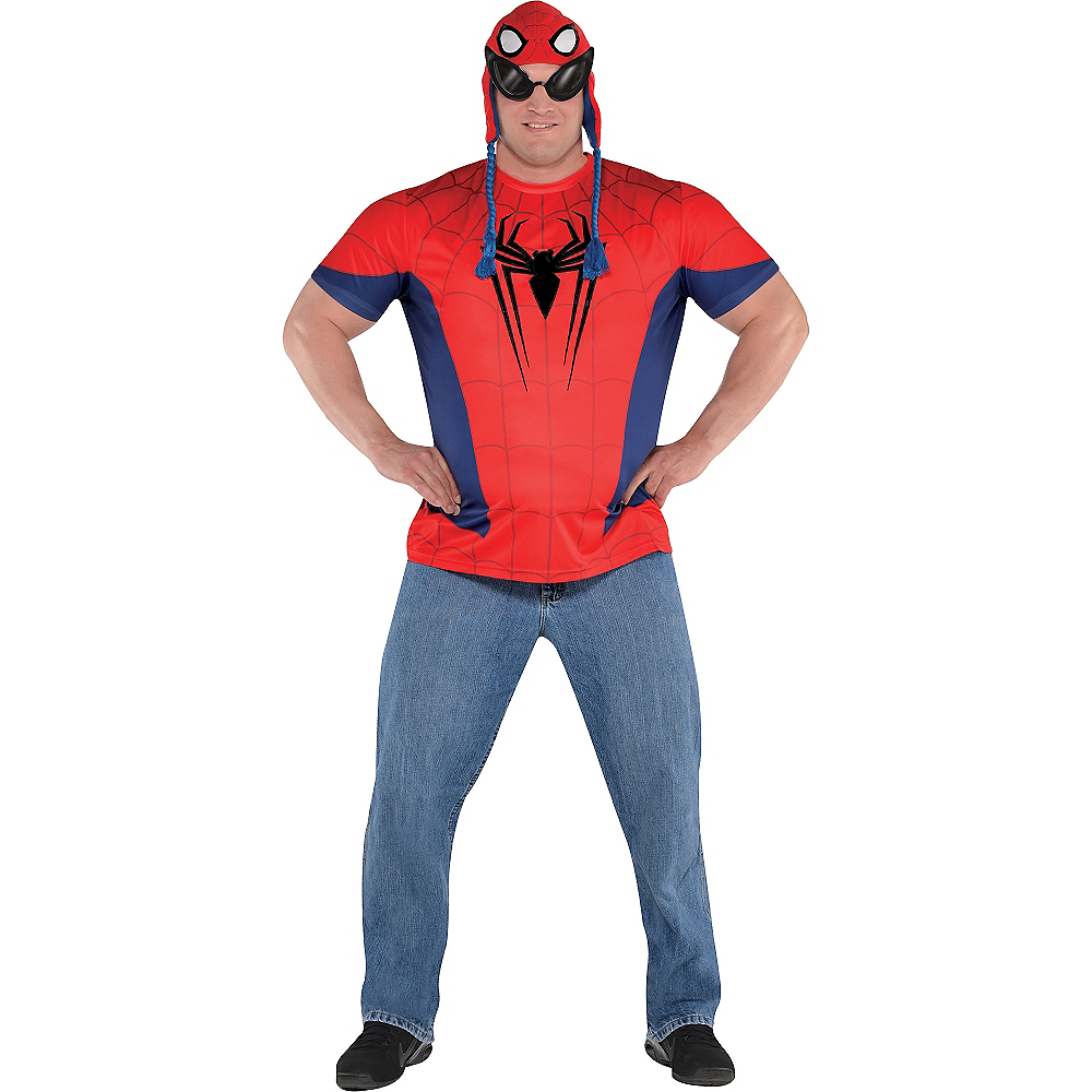 Nav Item for Spider-Man T-Shirt Image #4