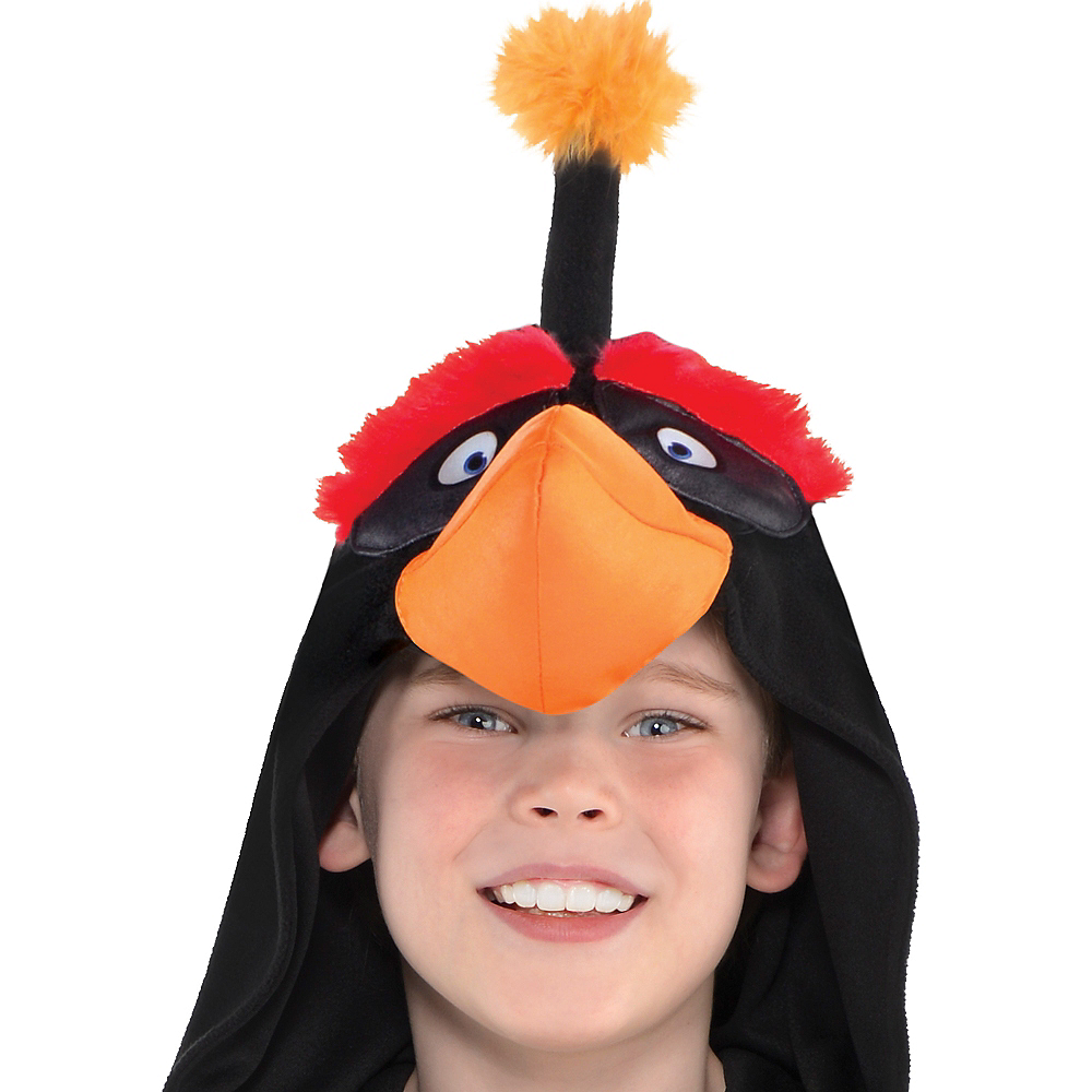 Boys Zipster Bomb Angry Bird One Piece Costume - The Angry Birds Movie Image #2