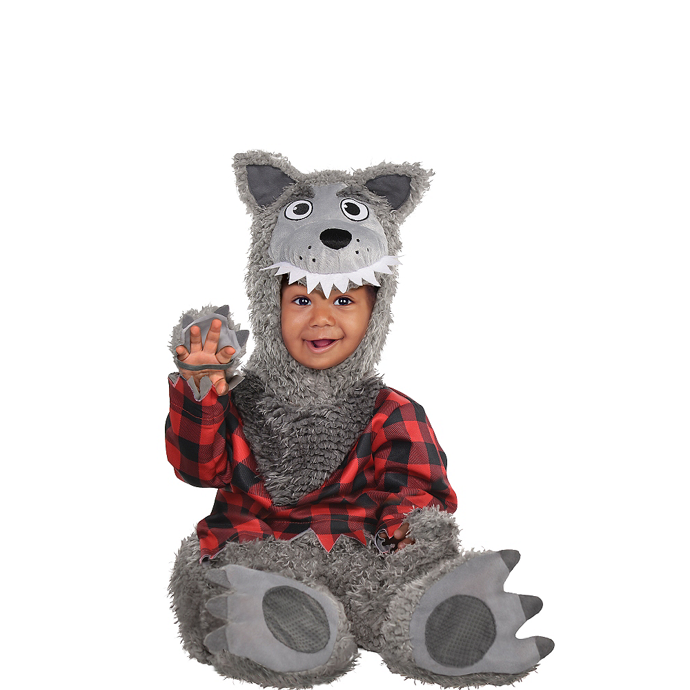 Nav Item for Baby Wolf Costume Image #1