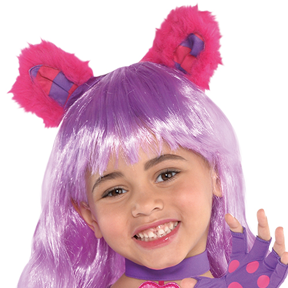 Toddler Girls Cheshire Cat Costume Image #2