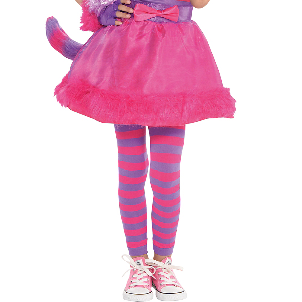 Toddler Girls Cheshire Cat Costume Image #4