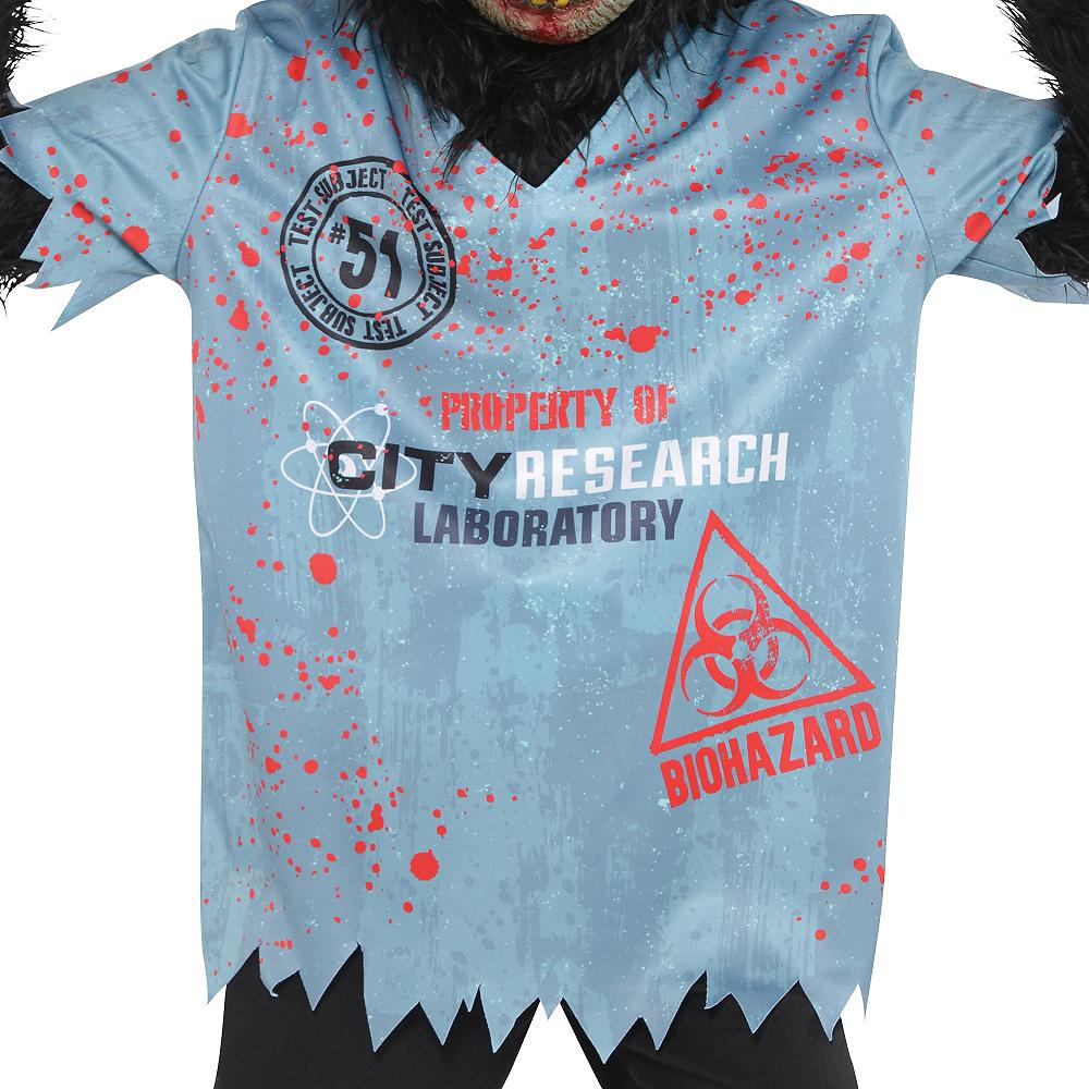 Boys Zombie Chimp Costume Image #2
