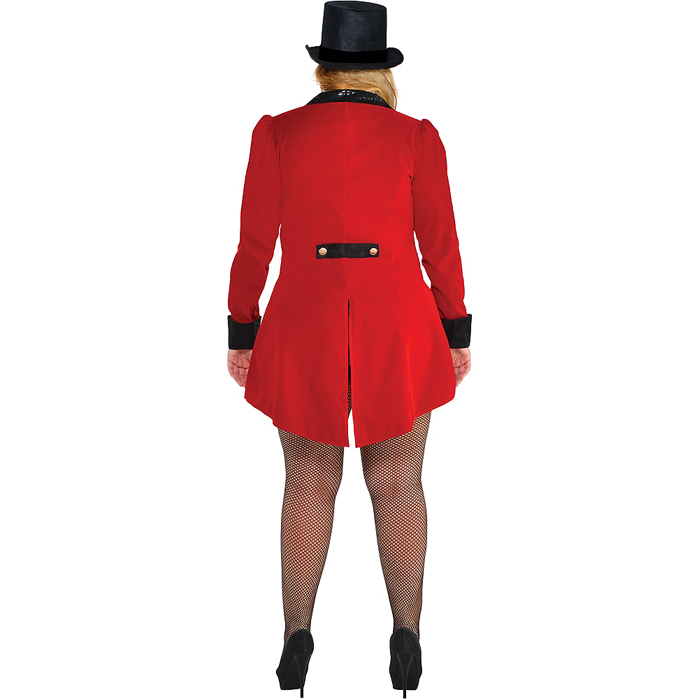 Nav Item for Adult Circus Ringmaster Costume Plus Size Image #3