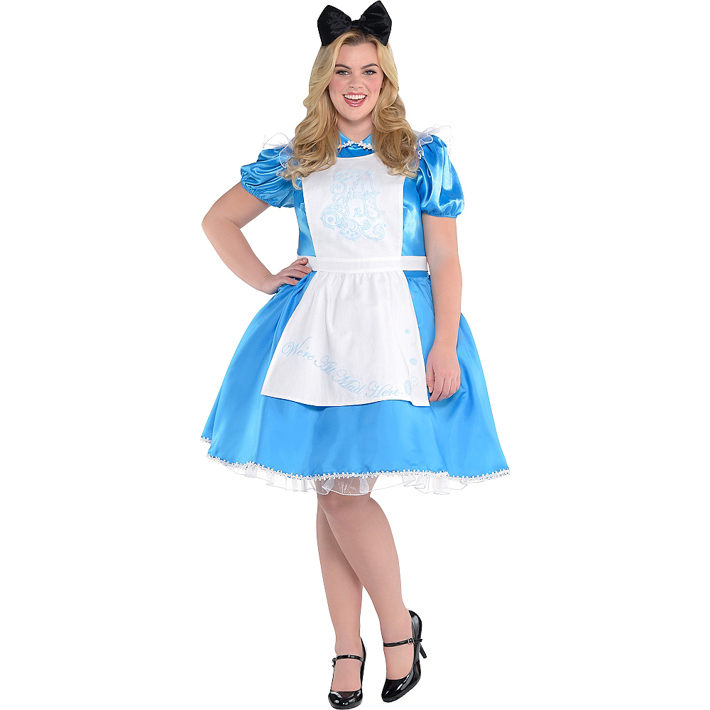 Adult Alice In Wonderland Costume Plus Size Alice In Wonderland Party City