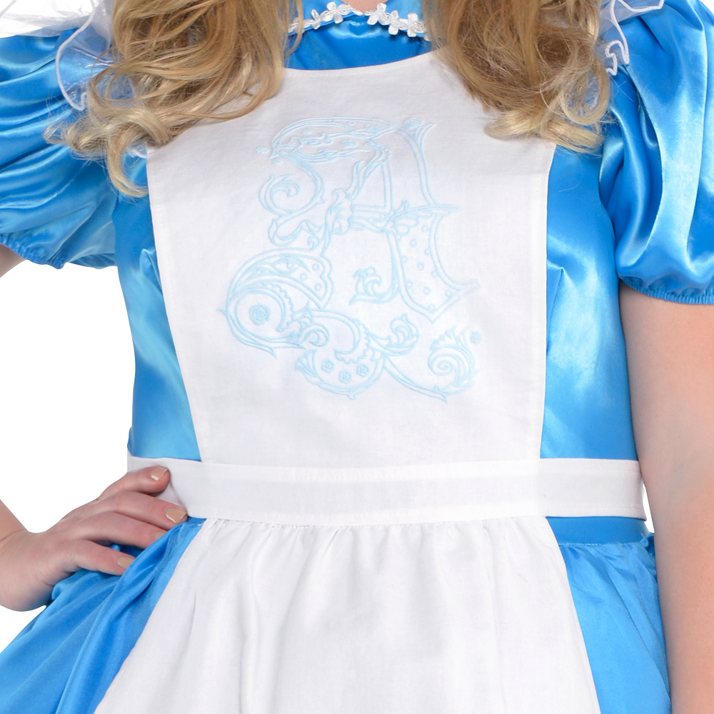 Adult Alice in Wonderland Costume Plus Size - Alice in Wonderland Image #3