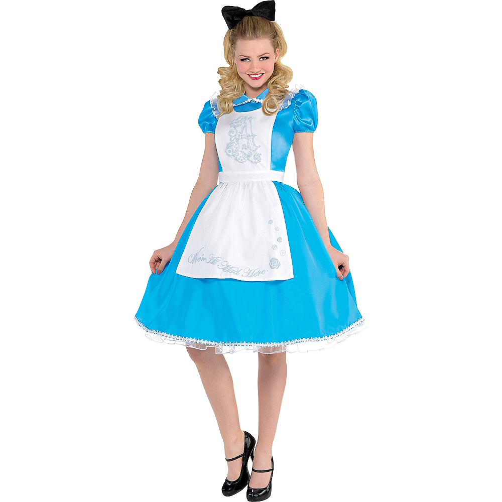 Adult Alice in Wonderland Costume - Alice in Wonderland Image #1