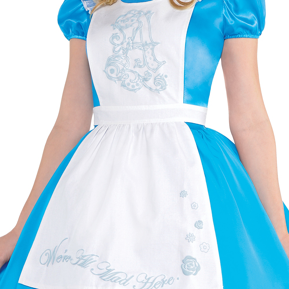 Adult Alice in Wonderland Costume - Alice in Wonderland Image #3