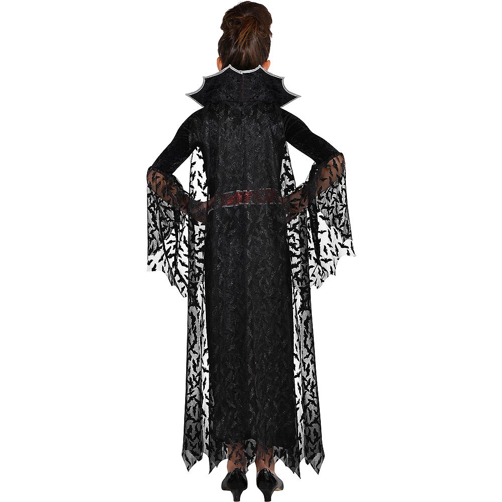Girls Coffin Queen Vampire Costume Image #2
