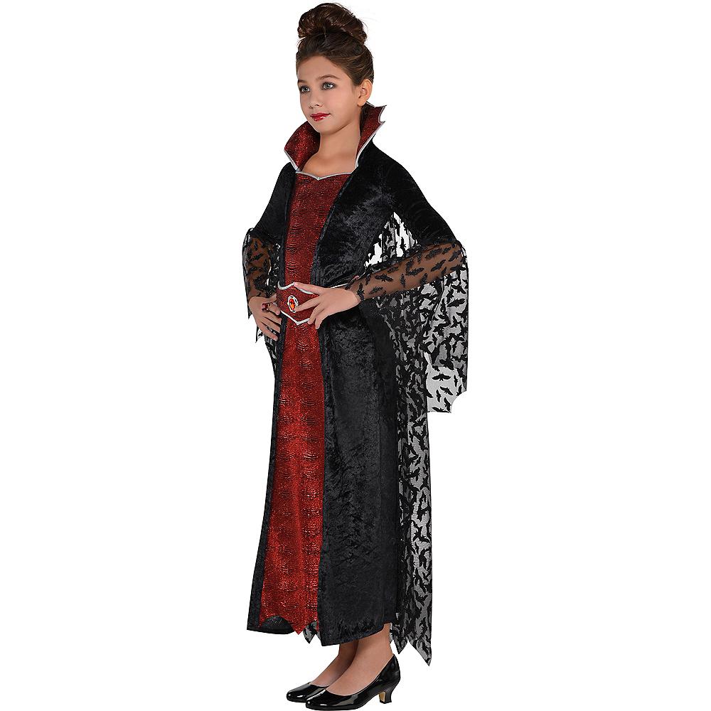 Girls Coffin Queen Vampire Costume Image #3