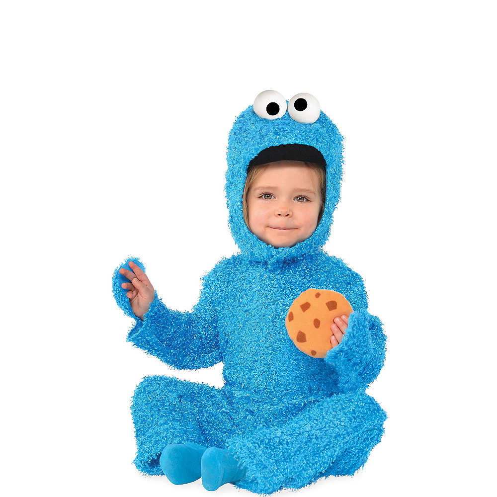 330bffeec8a8 Baby Cookie Monster Costume - Sesame Street Image  1 ...