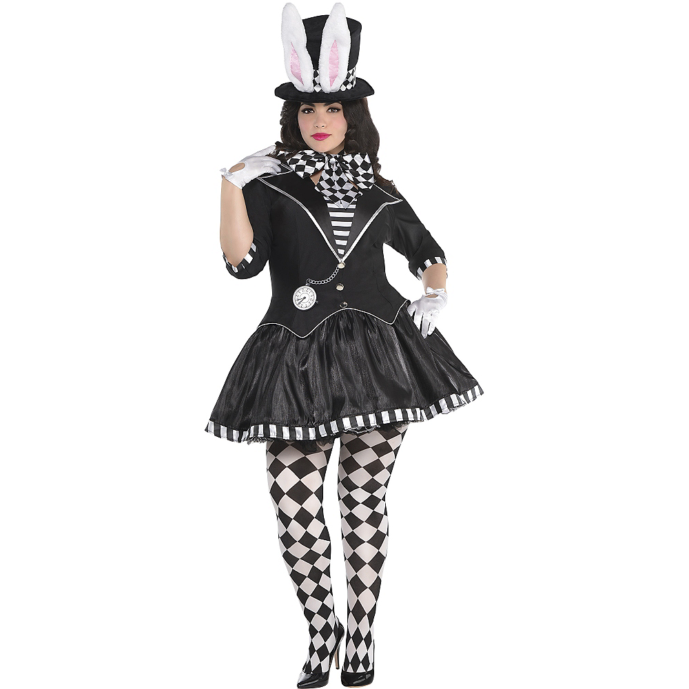 Adult Dark Mad Hatter Costume Plus Size Image #1