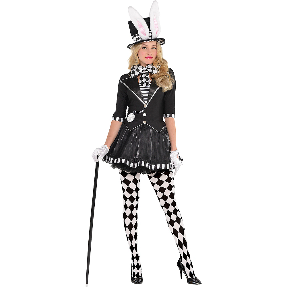Nav Item for Adult Dark Mad Hatter Costume Image #1