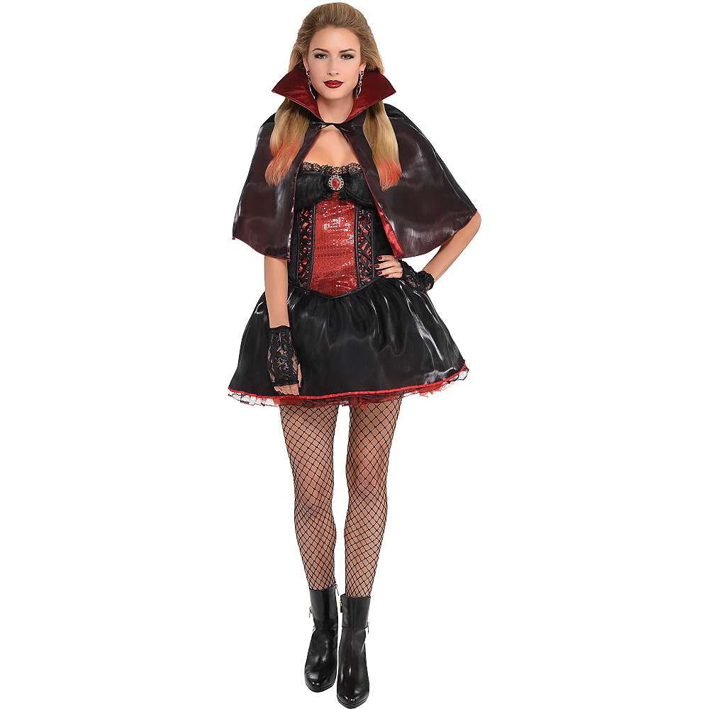 Adult Dark Vampire Costume Image #1