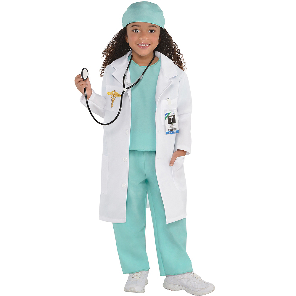b4638b3bd1e Girls Doctor Costume Image #1 ...