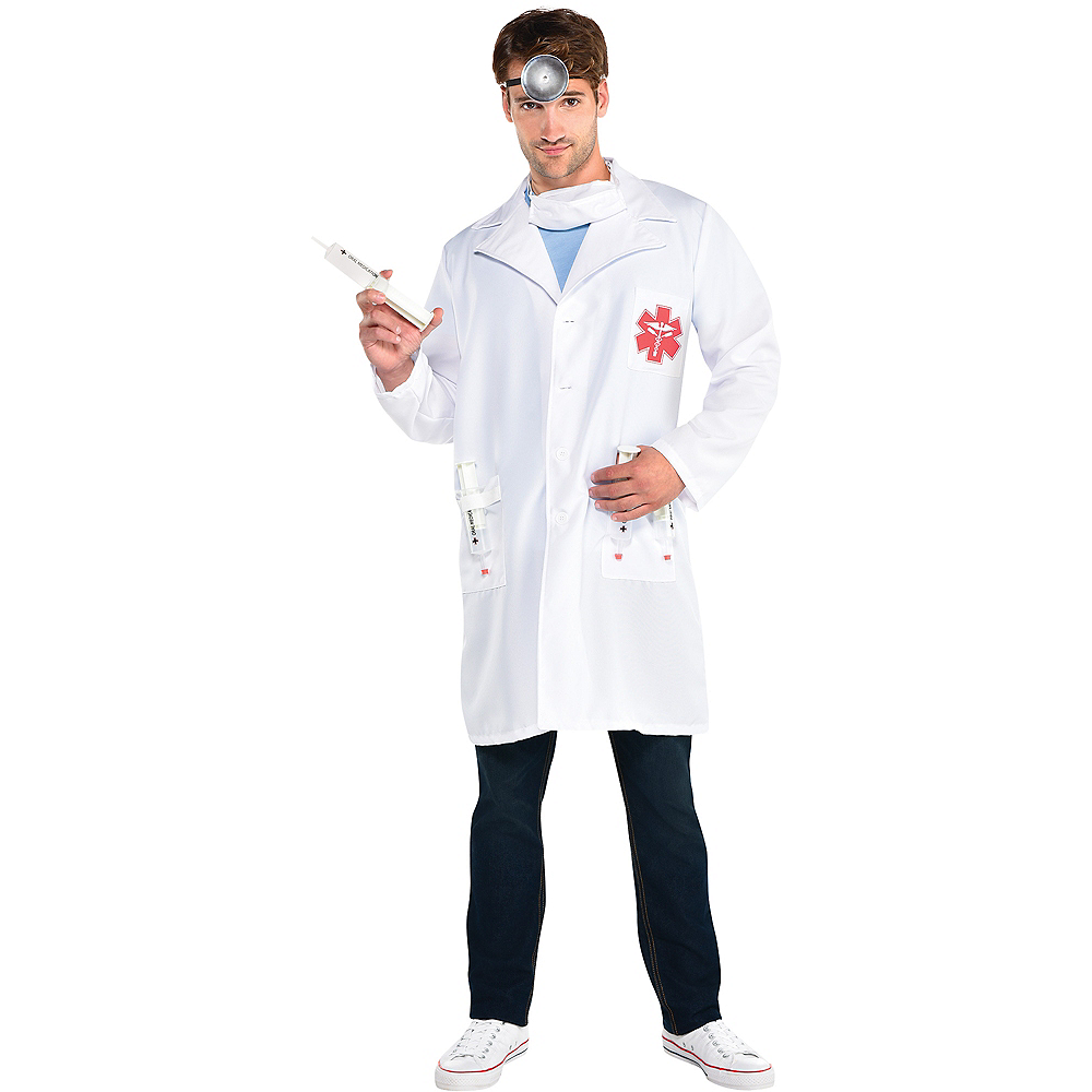 Adult Hot Shot Doctor Costume Image #1
