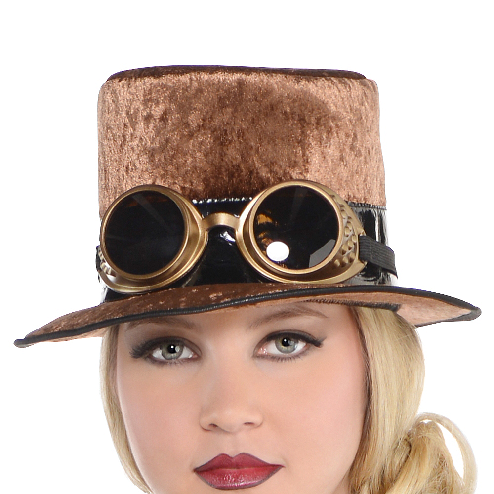 Adult Steamy Dreamy Steampunk Costume Plus Size Image #2