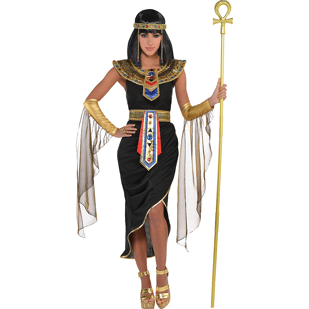 Adult Egyptian Queen Cleopatra Costume Image #1